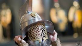 Casco de gladiador