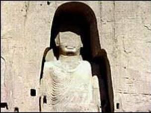 Taliban'ın yıktığı Buda heykelleri