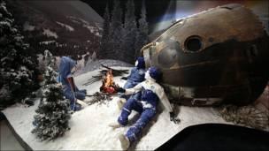 Космонавты после приземления. Фото Игоря Подгорного