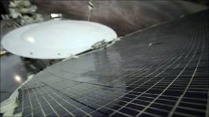 Солнечная батарея Лунохода. Фото Игоря Подгорного
