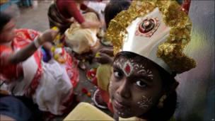 Религиозный праздник в Индии