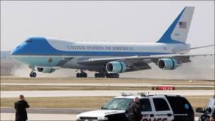 Avión presidencial estadounidense