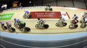 Competencia de ciclismo en Ballerup, Dinamarca