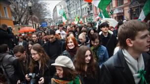 день святого патрика неофициальный марш, фото martin_sqare
