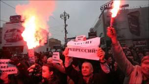 День гнева на Пушкинской площади, фото igorpodgorny
