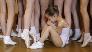 Bailarinas en Praga