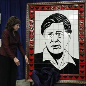 Homenaje a César Chávez en el Departamento de Trabajo de Estados Unidos
