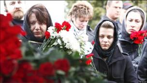 Похороны на Хованском кладбище
