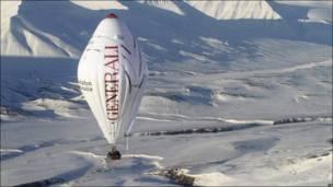 Старт воздушного шара