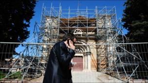 Reconstrucción por el terremoto en L'Aquila, Italia