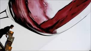 Feria de vinos en Italia