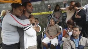 Damnificados en Río de Janeiro, Brasil