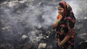 Incendio en India