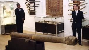 Cañon indio en subasta en Sotheby's
