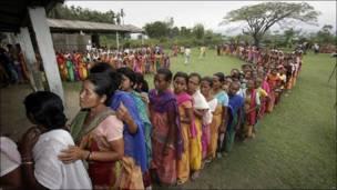 Votaciones en Bodoland