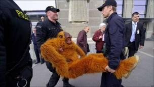 Greenpeace protesta contra Nestlé