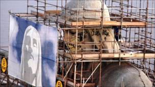 Estatua del Cristo Redentor en Río de Janeiro (Brasil)