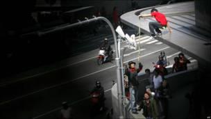 Акция протеста в Банкоке