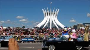 Evento por el 50º aniversario de Brasilia