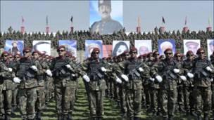 Парад афганских войск