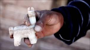 Лама из соли - сувенир