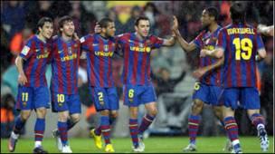 Barcelona ta shiga gaban Real Madrid a Spain - BBC News Hausa