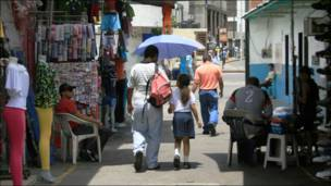 Mercado en Caracas