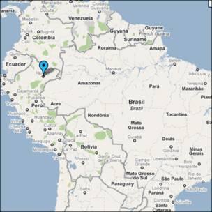 Mapa de Iquitos