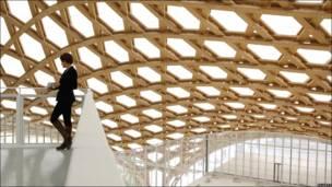 interior del Centro Pompidou-Metz