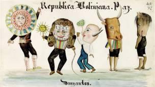 Tipos humanos y costumbres de Bolivia.