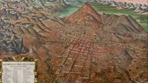 Descripción del Cerro Rico e Imperial Villa de Potosí.