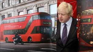 """El alcalde de Londres, Boris Johnson, desvela el nuevo diseño del autobús urbano """"Routemaster"""""""