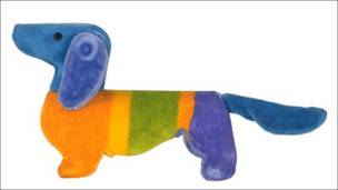 Waldi, mascota de Munich de 1972. Copyright: Comité Olímpico Internacional.