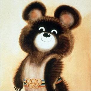 Misha, mascota de Moscú 1980. Copyright: Comité Olímpico Internacional.