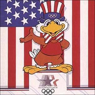Sam, mascota de Los Ángles 1984