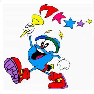 Izzy, mascota de Atlanta 1996. Copyright: Comité Olímpico Internacional.