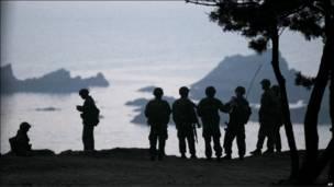 Пограничники Южной Кореи