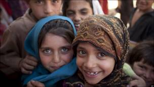 Niños en Pakistán