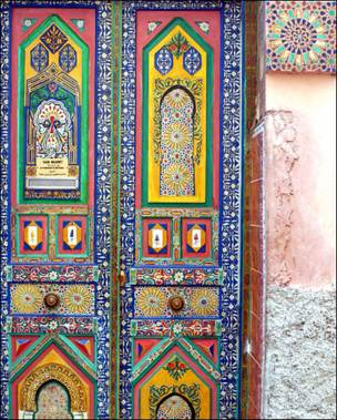 Puerta marroquí