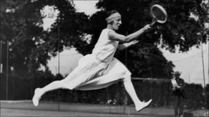 Suzanne Lenglen, tenista francesa