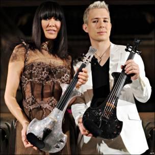 Violines eléctricos Swarovski
