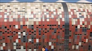 """El estadio """"Soccer City"""" en Johannesburgo"""