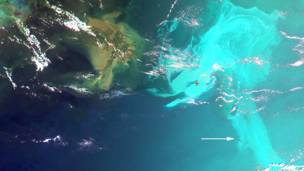 Derrame en el Golfo de México