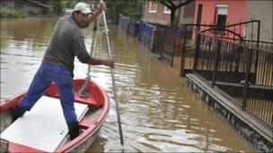 Hungría, tras las inundaciones.