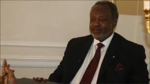 Madaxweynah Djibouti Ismaaciil Cumar Geelle