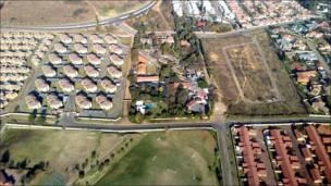 Contrastes en Johannesburgo
