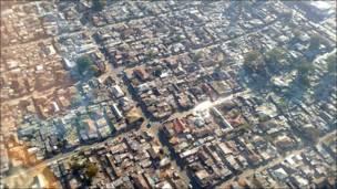 Barrio de chabolas