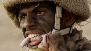 Soldado de las fuerzas especiales saudíes
