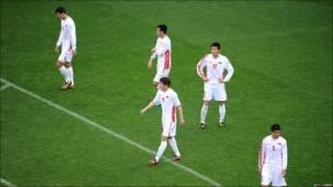 Jugadores de Corea del Norte