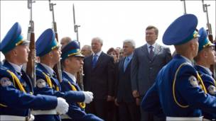 Президент Украины Виктор Янукович,